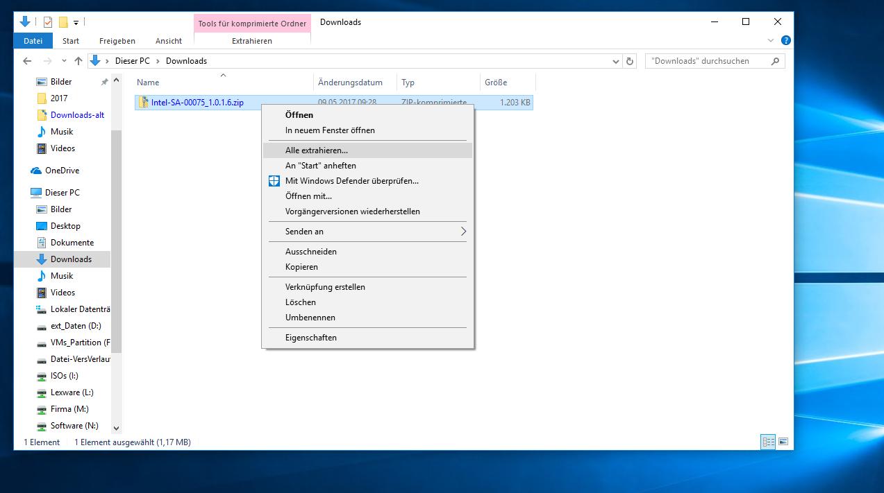 Entsprechende Firmware Updates Werden Von Intel Verteilt. Zusätzlich Hat  Intel Einen Detection Guide Für Die Betriebssysteme Windows 7 Und Windows  10 ...